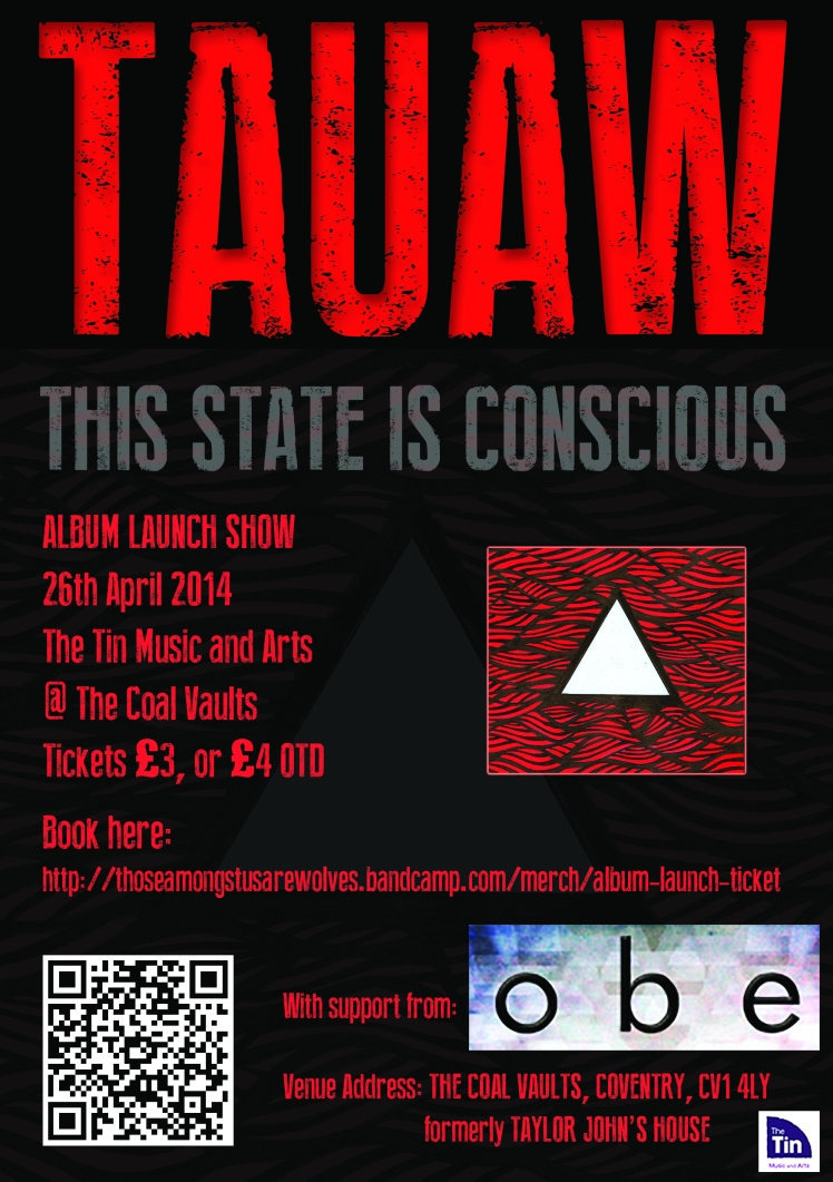 This State Is Conscious launch party.